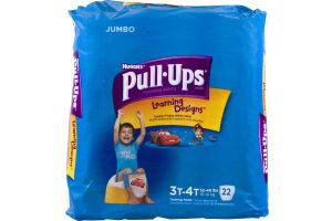 Huggies Pull-Ups Learning Designs Training Pants 3T-4T - 22 CT