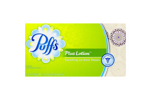 Puffs Plus Lotion Tissues - 124 CT