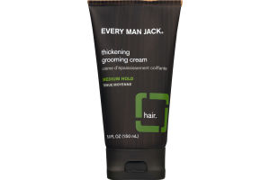 Every Man Jack Thickening Grooming Cream Medium Hold