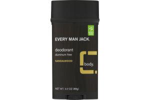 Every Man Jack Deodorant Sandalwood