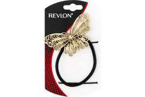 Revlon Antique Gold Butterfly Ponytail Holder