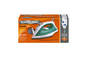 Proctor Silex Durable Iron Nonstick