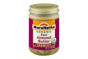 MaraNatha Raw Almond Butter Crunchy