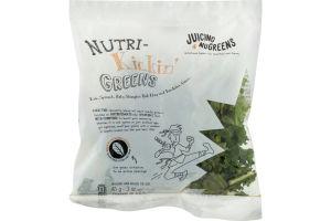 Juicing NuGreens Nutri-Kickin' Greens