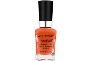 Wet N Wild MegaLast Salon Nail Color Club Havana