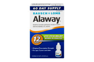 Alaway Eye Itch Relief