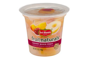 Del Monte Quality Fruit Naturals Cherry Mixed Fruit