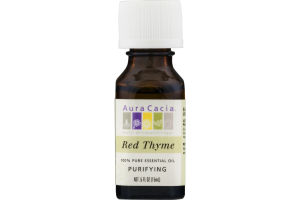 Aura Cacia Pure Aromatherapy 100% Pure Essential Oil Red Thyme
