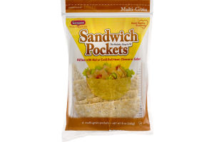 Kangaroo Sandwich Pockets Multi-Grain - 6 CT