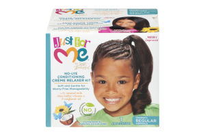 Just For Me No-Lye Conditioning Creme Relaxer Kit Children's Regular