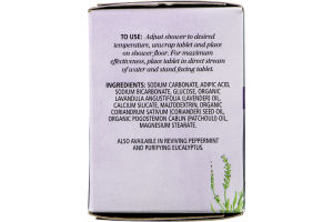 Aura Cacia Shower Tablets Relaxing Lavender