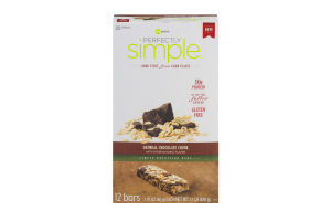 Perfectly Simple Nutrition Bars Oatmeal Chocolate Chunk - 12 CT