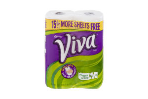Kleenex Viva Choose-A-Size Paper Towels- 2 CT
