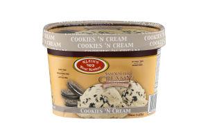 Klein's Real Kosher Smooth & Creamy Non-Dairy Frozen Dessert Cookies 'N Cream