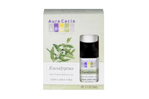 Aura Cacia Eucalyptus Exhilarating 100% Pure Essential Oil