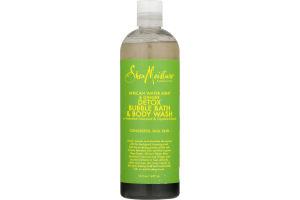 Shea Moisture Detox Bubble Bath & Body Wash African Water Mint & Ginger