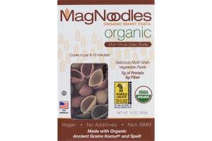 MagNoodles Organic Smart Pasta Multi Whole Grain Shells