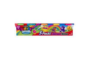 Cra-Z-Art Softee Dough Super Soft Modeling Compound Extreme Colors - 5 PK