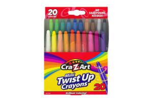 Cra-Z-Art Mini Twist Up Crayons - 20 CT