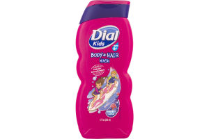 Dial Kids Body + Hair Wash Berry Cool