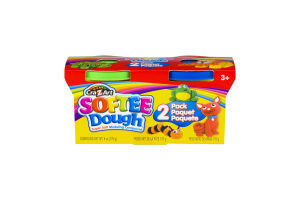 Cra-Z-Art Softee Dough - 2 PK