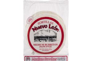 Nuevo Leon Flour Tortillas - 12 CT