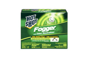 Hot Shot Fogger with Odor Neutralizer - 3 CT