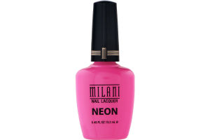 Milani Nail Lacquer Neon 507 Pink Hottie