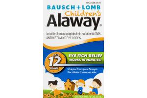 Bausch + Lomb Children's Alaway Eye Itch Relief