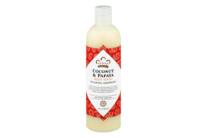 Nubian Heritage Coconut & Papaya Body Wash Polishing & Renewing
