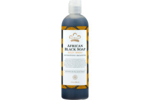 Nubian Heritage African Black Soap Body Wash Detoxifying & Balancing