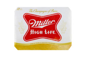 Miller High Life Beer - 12 PK