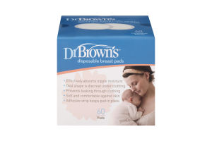 Dr Brown's Disposable Breast Pads - 60 CT