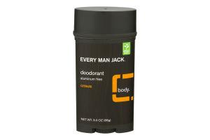 Every Man Jack Body Deodorant Citrus