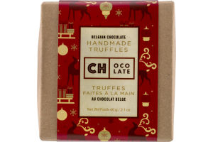 Ch Ocolate Belgian Chocolate Handmade Truffles