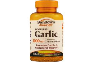 Sundown Naturals Dietary Supplement Odorless Garlic 1000mg - 250 CT