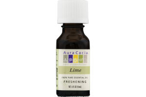 Aura Cacia Pure Aromatherapy 100% Pure Essential Oil Lime