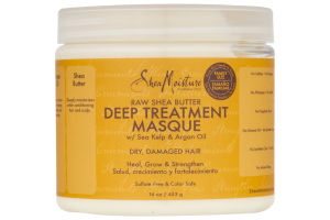 Shea Moisture Deep Treatment Masque Raw Shea Butter