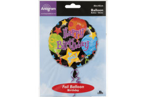 "Anagram Foil Balloon 18"" Happy Birthday to You! Jubilee"