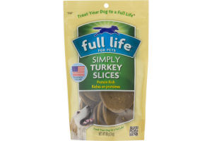 Full Life For Pets Simply Turkey Slices