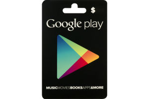 Google Play Gift Card $50