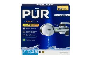 PUR Faucet Filtration System Chrome Finish