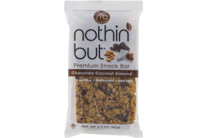 Nothin' But Premium Snack Bar Chocolate Coconut Almond
