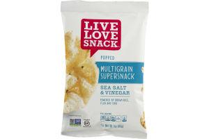 Live Love Snack Popped Multigrain Supersnack Sea Salt & Vinegar