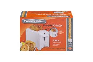 Proctor Silex Durable Toaster 2 Slice Auto Shutoff