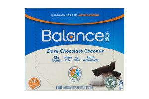 Balance Bar Dark Chocolate Coconut - 6 CT