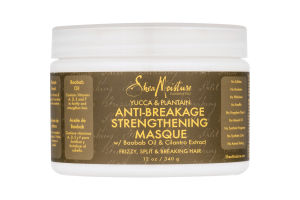 Shea Moisture Anti-Breakage Strengthening Masque Yucca & Plantain