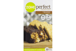 ZonePerfect Nutrition Bars Fudge Graham - 12 CT