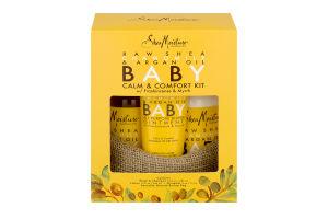 Shea Moisture Baby Calm & Comfort Kit Raw Shea Chamomile & Argan Oil