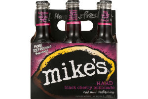Mike's Hard Black Cherry Lemonade Bottles - 6 CT